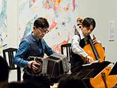 北村 聡(バンドネオン) 〜現代美術と音楽が出会うとき