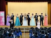 桜の街の音楽会・千束小学校