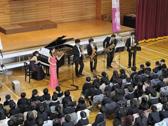 桜の街の音楽会・黒門小学校