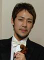 ヴァイオリン:佐久間聡一 Violin:Soichi Sakuma
