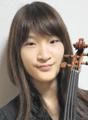 ヴァイオリン:藤井杏子 Kyoko Fujii