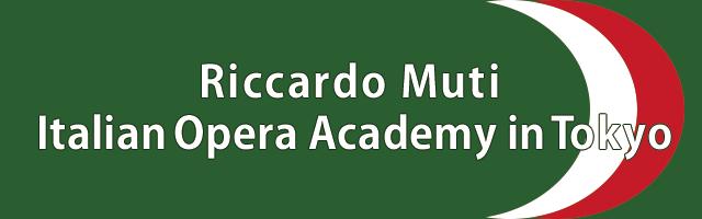 Riccardo Muti Italian Opera Academy in Tokyo