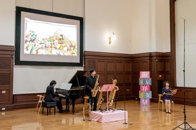 東京春祭 for Kids 子どものための絵本と音楽の会「5ひきのすてきなねずみ おんがくかいのよる」収録風景